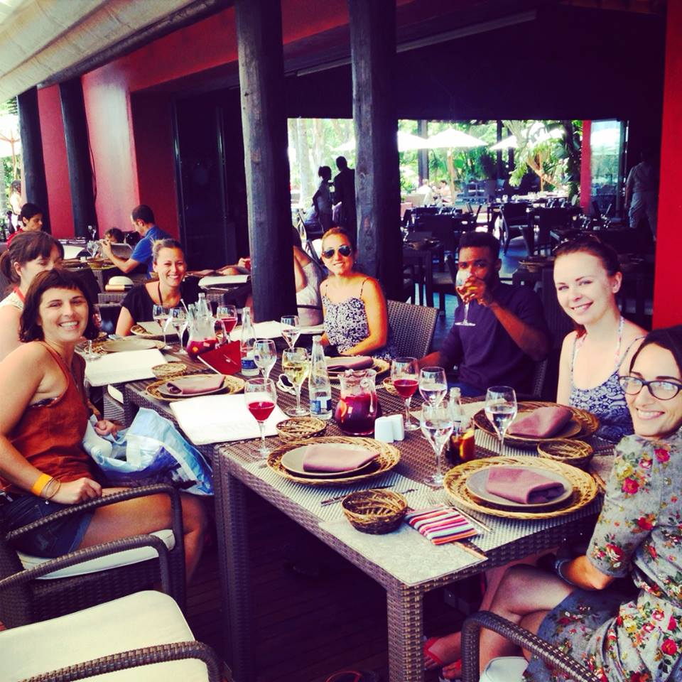 benidorm-asia hotel lunch